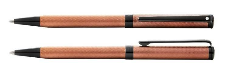 9257 Długopis Sheaffer Intensity, brązowy, czarne elementy powlekane metodą PVD