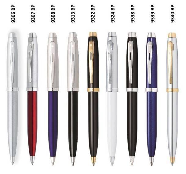 9339 BP Długopis Sheaffer kolekcja 100, niebieski, wykończenia chromowane