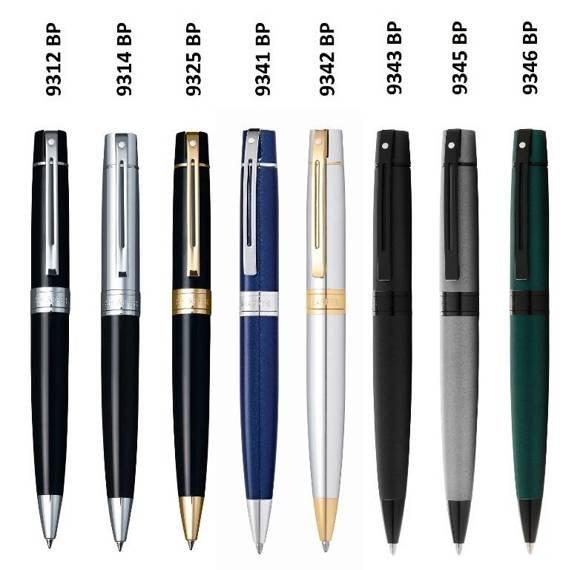 9345 Długopis Sheaffer kolekcja 300, szary, elementy czarne