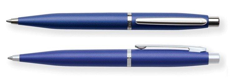 9401 BP Długopis Sheaffer VFM, niebieski, wykończenia niklowane