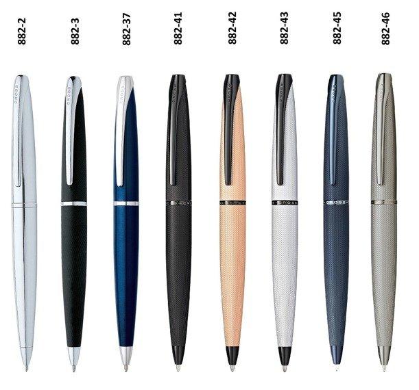 Długopis Cross ATX czarny matowy, elementy chromowane