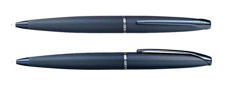 Długopis Cross ATX korpus i elementy niebieskie