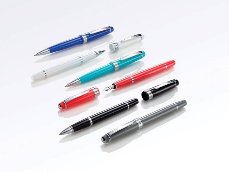 Długopis Cross Bailey Light biały, elementy chromowane