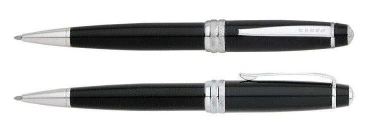 Długopis Cross Bailey czarny, elementy chromowane