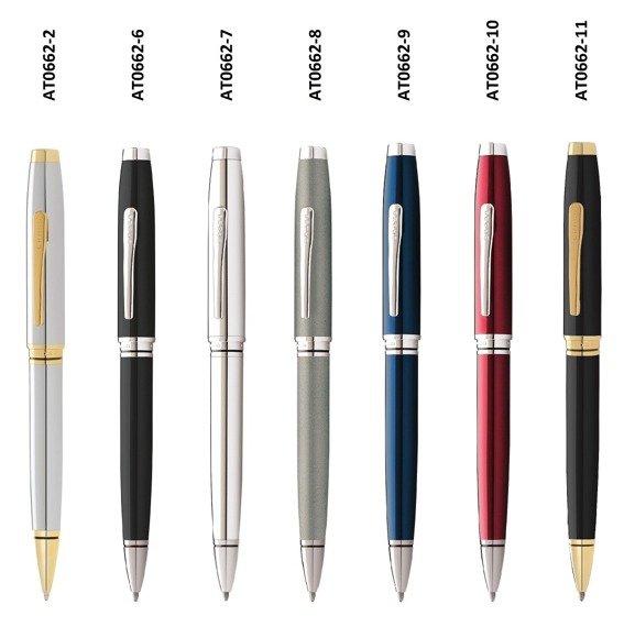 Długopis Cross Coventry niebieski, elementy chromowane