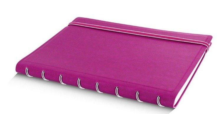 Notebook fILOFAX CLASSIC A5 blok w linie, fuksja
