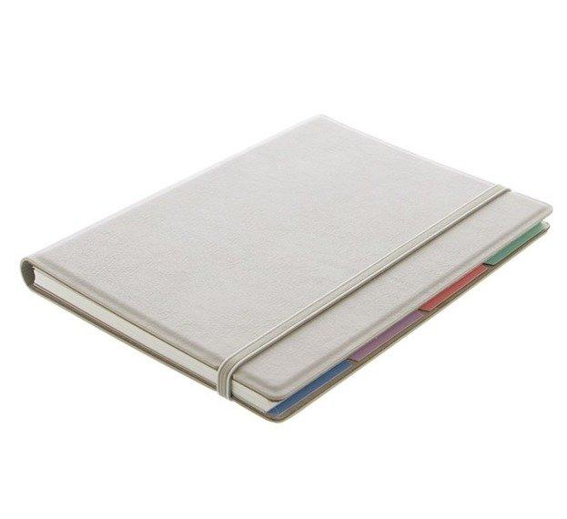 Notebook fILOFAX CLASSIC Pastels A5 blok w linie, pastelowy szary