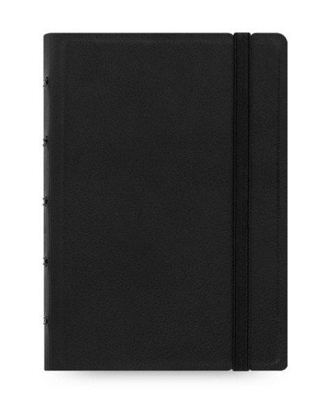 Notebook fILOFAX CLASSIC kieszonkowy, blok w linie, czarny