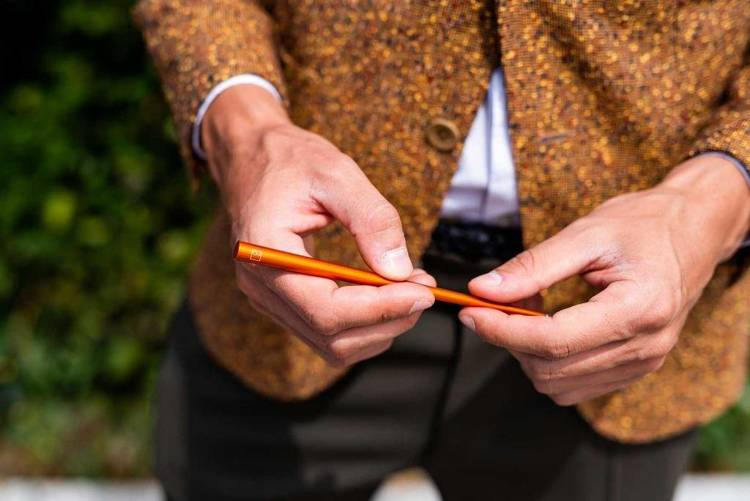 PININFARINA Segno Ethergraf® Forever Prima Rust, pomarańczowy
