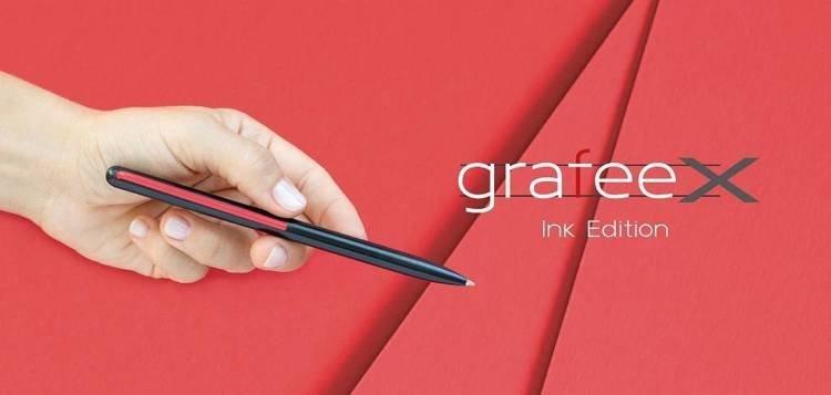 PININFARINA Segno GrafeeX INK długopis czerwony