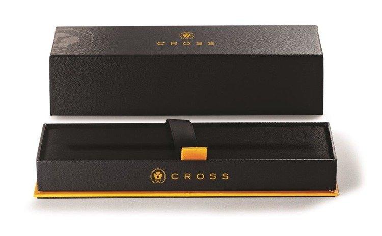 Pióro kulkowe Cross Bailey chromowane, elementy pokryte 23k złotem